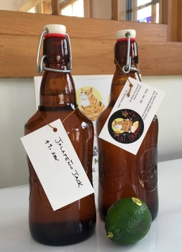 Bottles with Tags