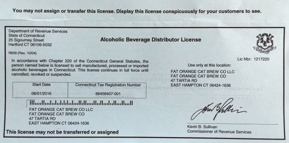 Distributor License