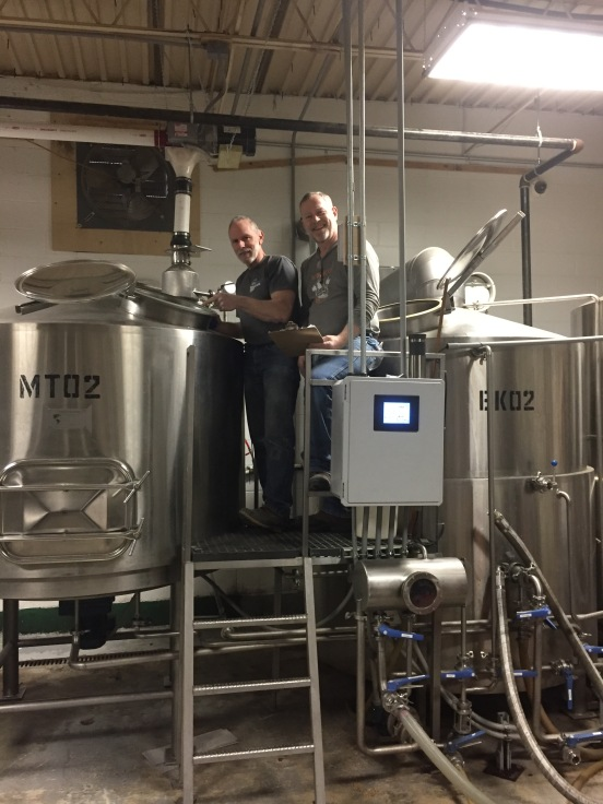 Mike and Scott Contract Brew
